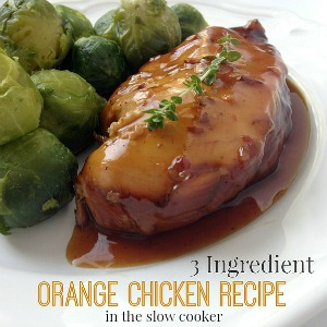 Slow Cooker Orange Chicken Recipe