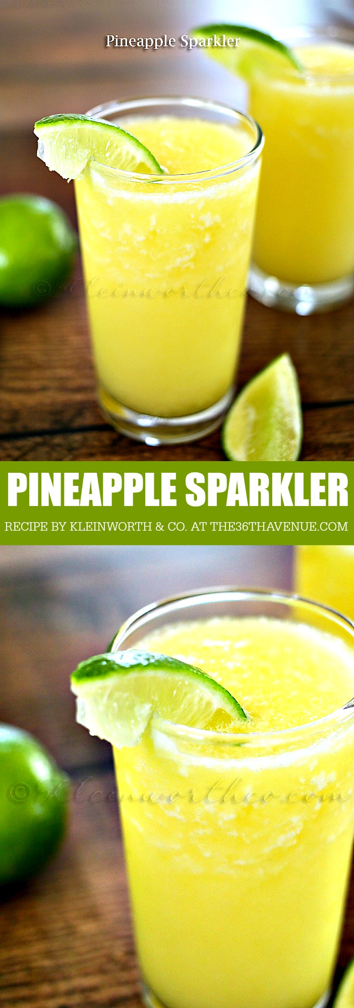 PINEAPPLE SPARKLER the36thavenue.com