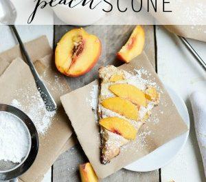 Peach Scone Recipe
