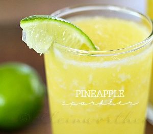 Pineapple Sparkler Recipe