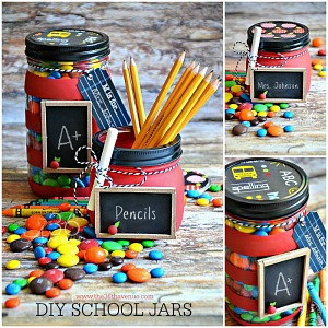 Back to School DIY Jars