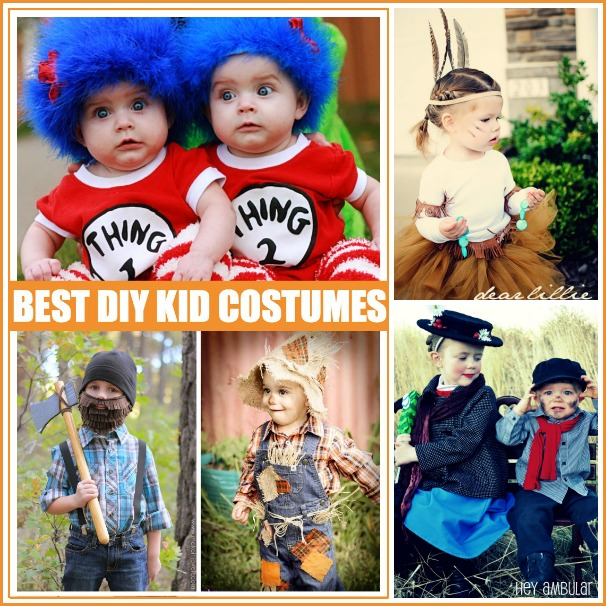 Best DIY Kid Costumes FB