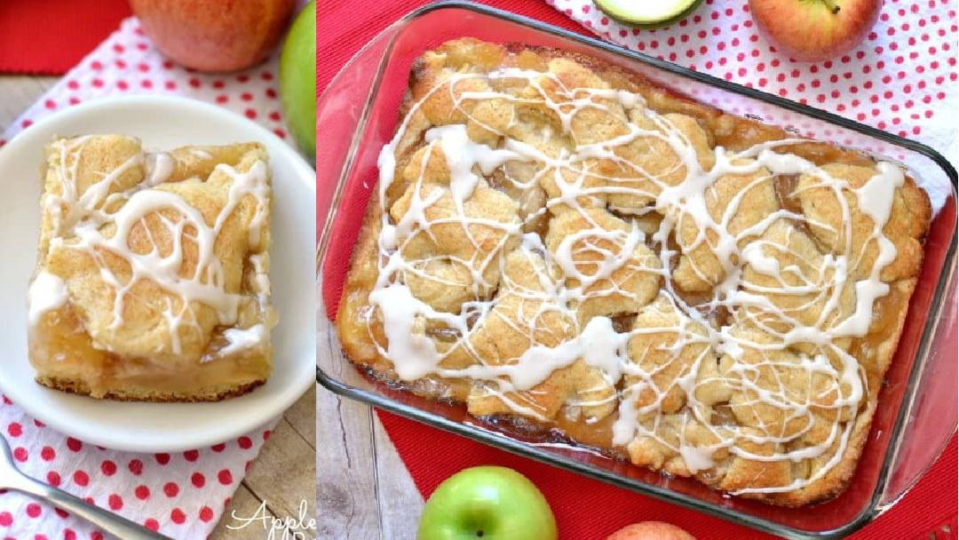Apple Pie Bars the36thavenue.com