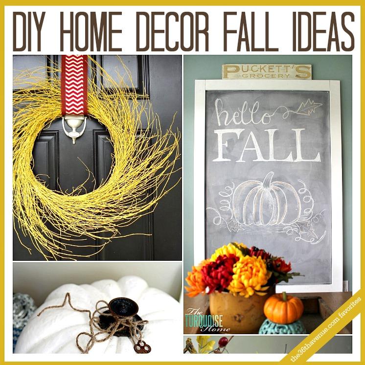DIY Home Decor Fall Ideas FB