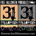 Halloween Free Printables