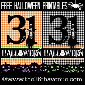 Halloween Free Printables 300