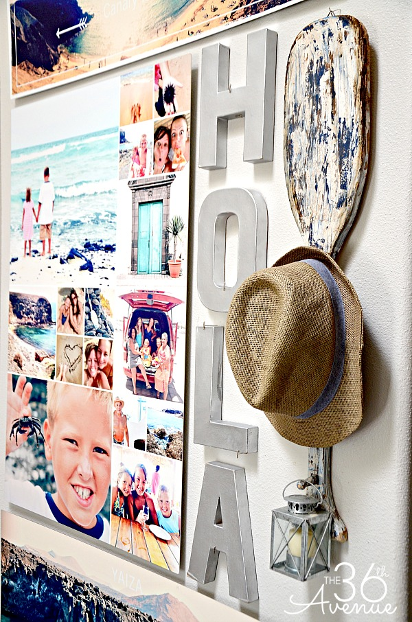 Home Decor - How to create a Photo Wall Gallery at the36thavenue.com