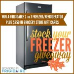 Stock Your Freezer Giveaway
