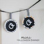 Halloween Mini Banner