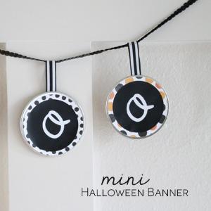 Halloween Mini Banner by createcraftlove.com