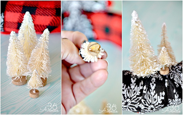 Christmas Decor- DIY Christmas Wreath Tutorial at the36thavenue.com ...Super cute!!!