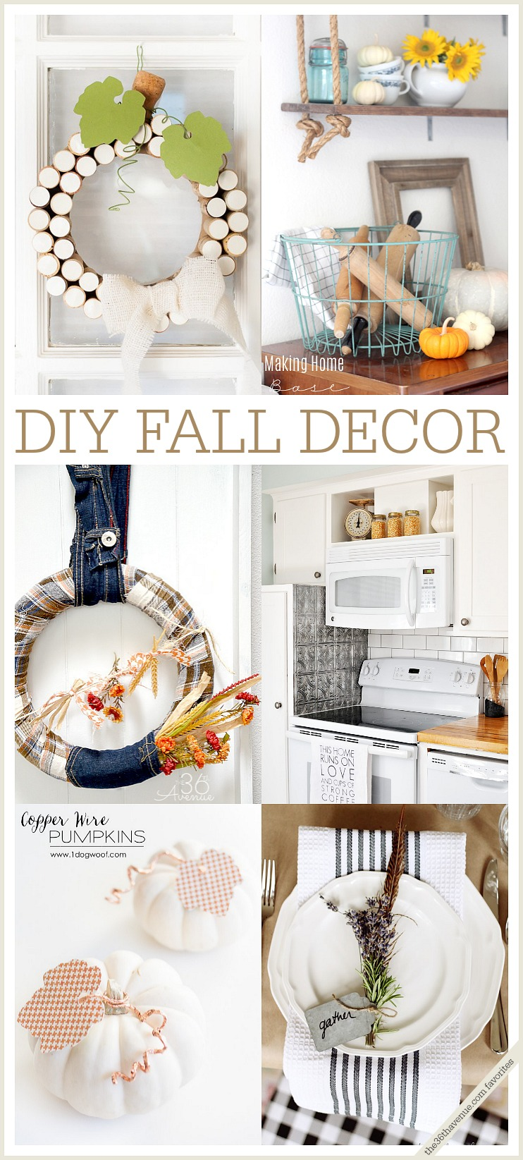 DIY Fall Decor at the36thavenue.com