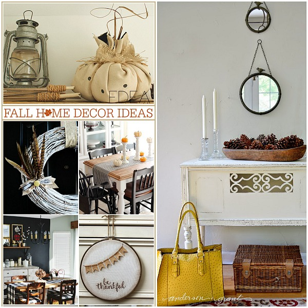 Fall Home Decor Ideas FB