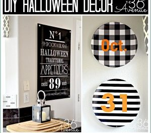 Halloween Decor Ideas and Giveaway