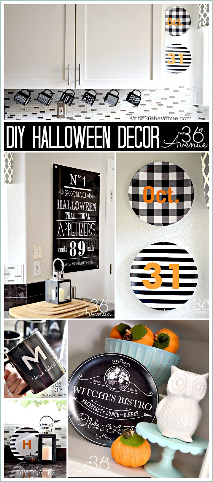 Halloween Decor Ideas by the36thavenue.com