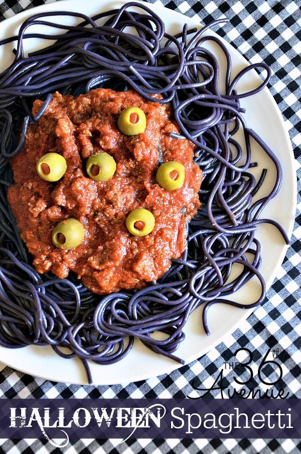 The 36th avenue halloween spaghetti the 36th avenue for Creative ideas for halloween treats