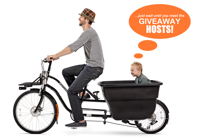 Enter to win a MADSEN BIKE and four $100 Gift Cards to Target/Amazon! Enjoy the ride!!!