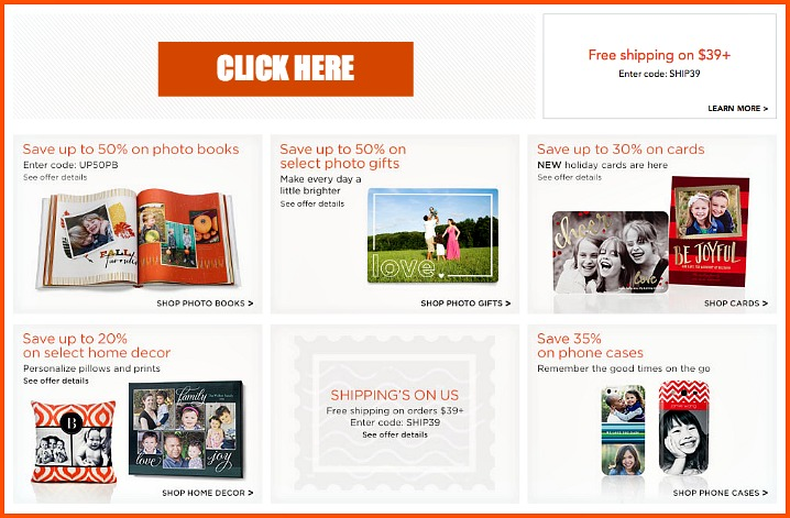 Shutterfly Special Offer