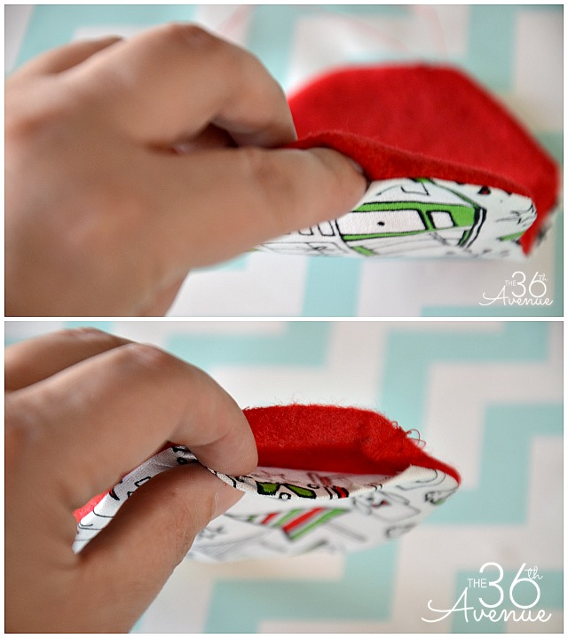 Christmas Gift - Adorable DIY Sleeping Mask Tutorial. #christmas #gifts #the36thavenue