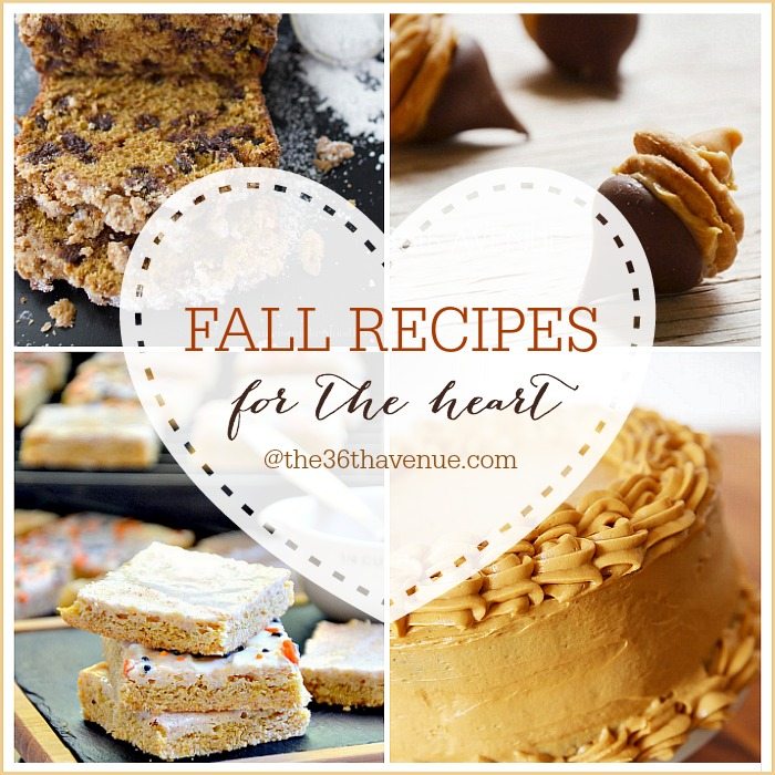 Fall Recipes - Delicious Fall Recipes perfect for Thanksgiving. the36thavenue.com