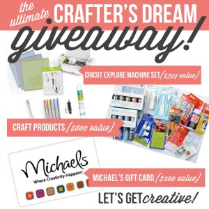 The Ultimate Crafters Dream Giveaway