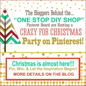 Crazy for Christmas Party and GIVEAWAY on Pinterest!