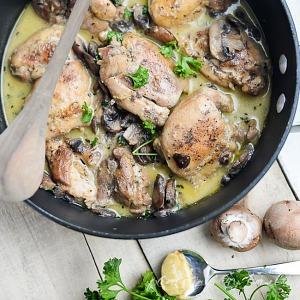 Mushroom Chicken Skillet Recipe