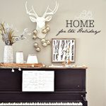 Christmas Decor – Piano Area