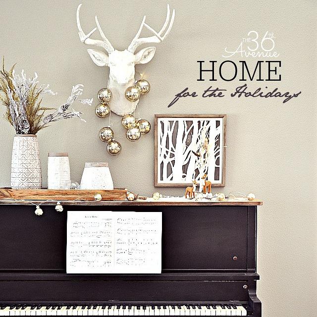 Home Decor Christmas Ideas by the36thavenue.com