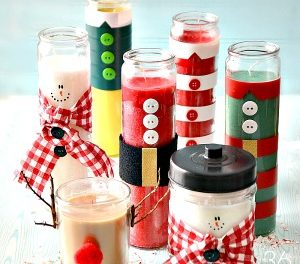 Christmas Gifts – DIY Candles