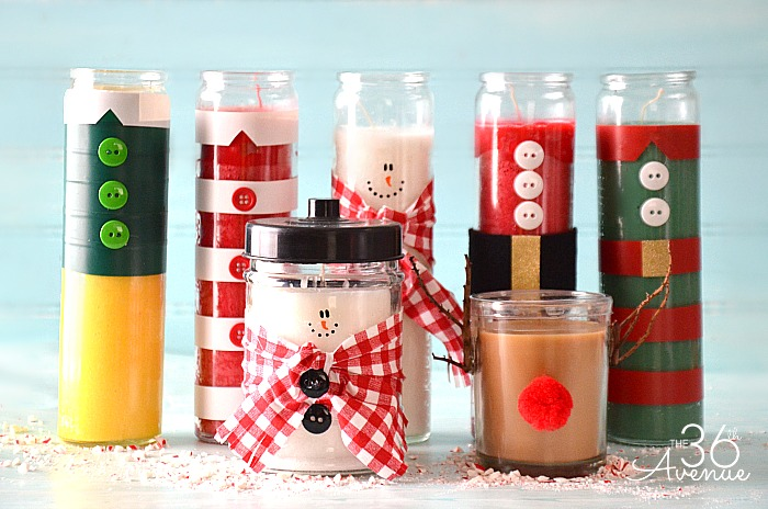 The 36th avenue christmas gift diy candles the 36th for Ideas for homemade useful christmas gifts