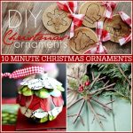15 Minute DIY Christmas Ornaments