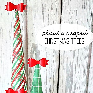 Super cute Christmas Tree Craft..
