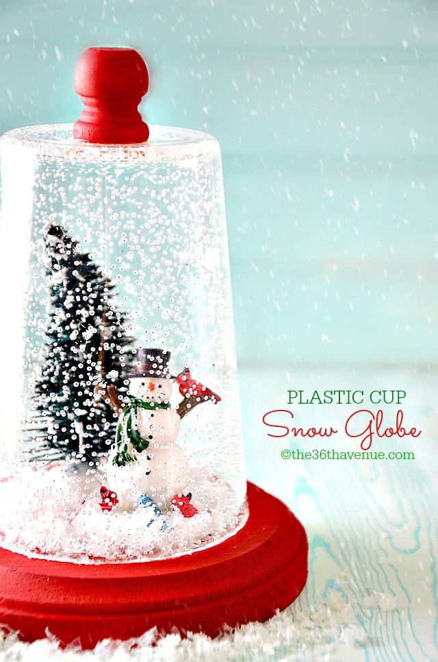 Snow Globe Christmas Tree