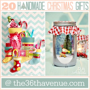 20 Handmade Christmas Gifts  300