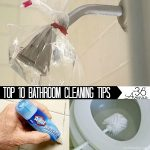 Top Bathroom Cleaning Tips