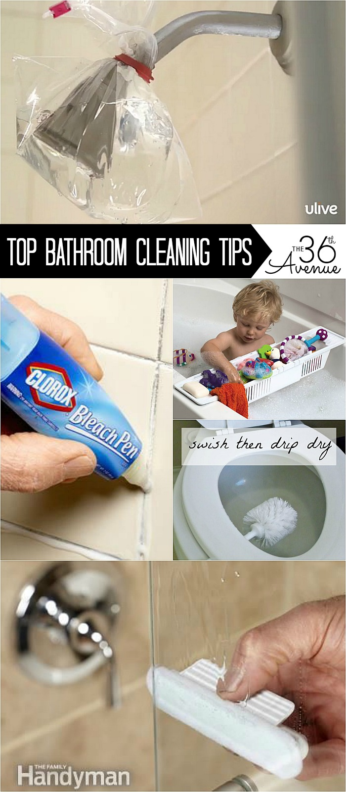 The 36th avenue top 10 closet organization ideas the for Best cleaner for bathroom
