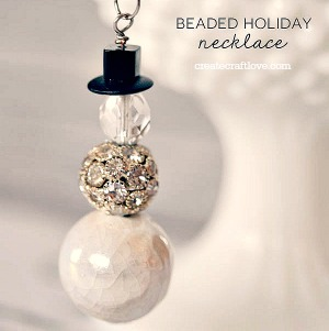 Handmade Gifts – Beaded Necklace