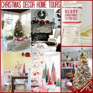 Christmas Decor Home Tours over at the36thavenue.com