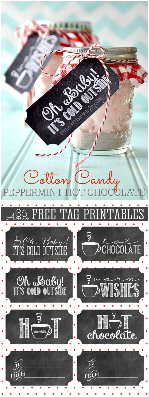 Cotton Candy Peppermint Hot Chocolate PINTEREST