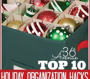 Organization Ideas – Christmas Edition