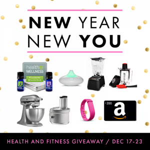 New YEAR, New YOU GIVEAWAY at the36thavenue.com