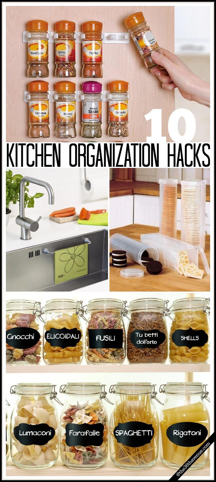 Kitchen Organization Hacks the36thavenue.com