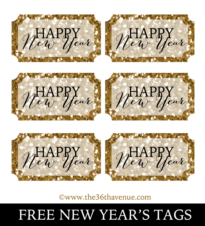 New Year's Breakfast Idea and Free Printables over at the36thavenue.com