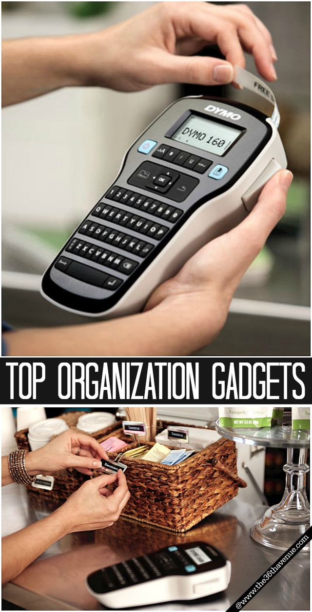Top 10 Organization Hacks and Gadgets at the36thavenue.com #organization