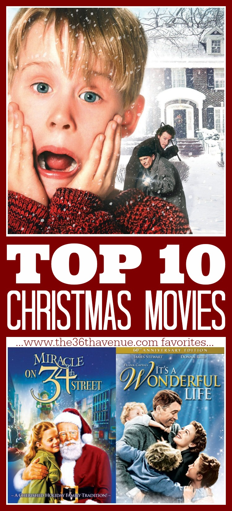Top 10 Christmas Movies - The 36th AVENUE