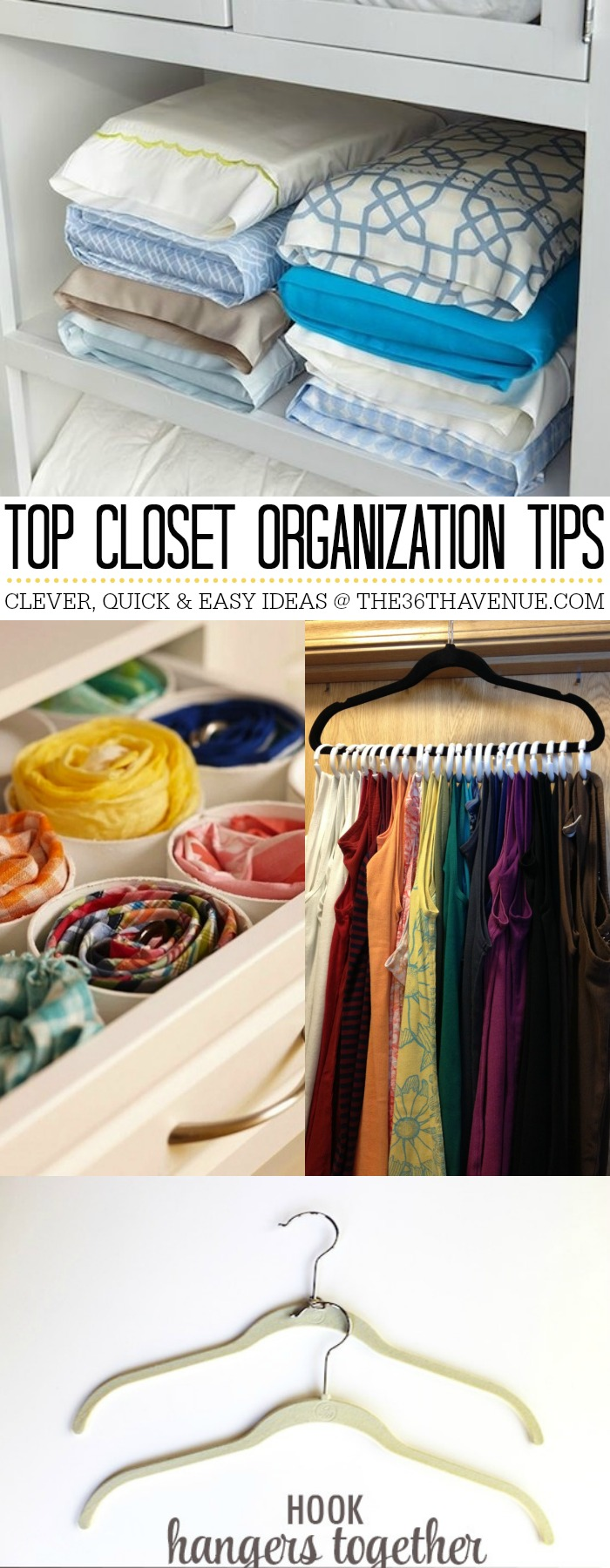 Closet Organization Ideas by the36thavenue.com