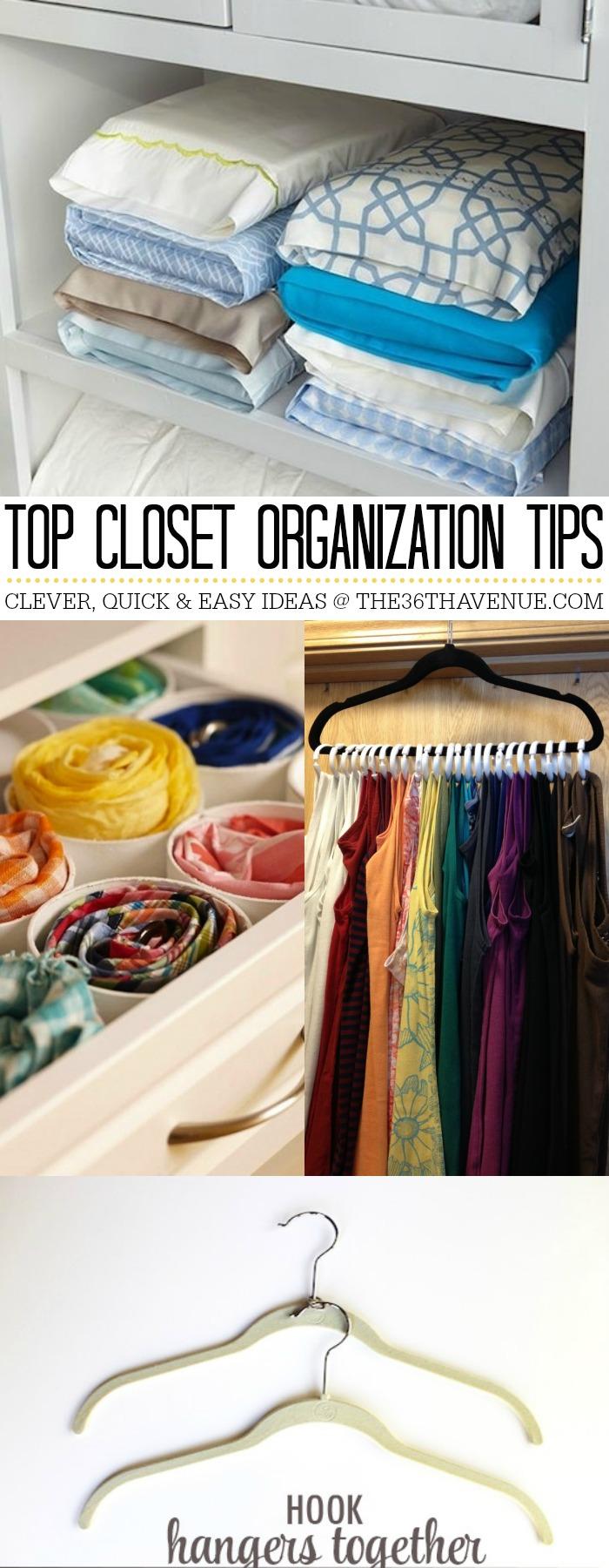 Closet Organization Ideas by the36thavenue.com