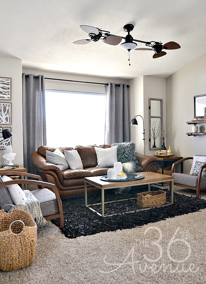 The 36th avenue home decor neutral living room the for Neutral lounge decorating ideas