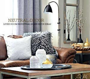 Home Decor – Neutral Living Room